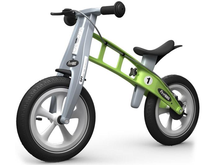 First Bike RACING Zelená s brzdou