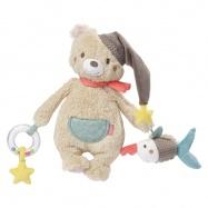 BABY FEHN Bruno Aktivity hračka, medveď
