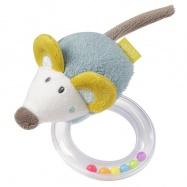 BABY FEHN Little Castle chrastítko myš