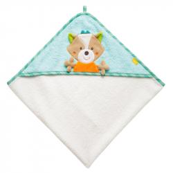 FEHN Forest Ręcznik kąpielowy z kapturem Lis