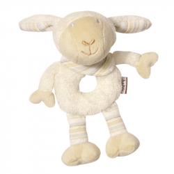 BABY FEHN Babylove měkký kroužek ovečka