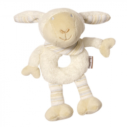 BABY FEHN Babylove mäkký kružok ovečka