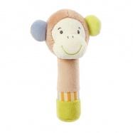 BABY FEHN Monkey Donkey pískací opička do ruky