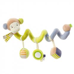 BABY FEHN Monkey Donkey aktivity špirála opička