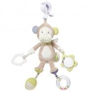 BABY FEHN Monkey Donkey aktivity opička s klipem