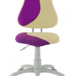 Rostoucí židle Fuxo S Line Suedine fialovo-béžová 800