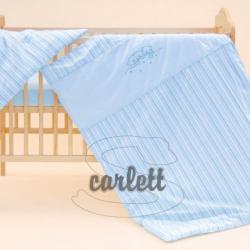 Komplet poszewek na pościel do łóżeczka Filip - niebieski