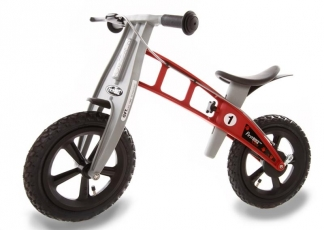 First Bike CROSS Red s brzdou