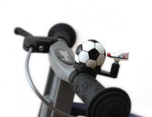 First Bike zvonek fotbal