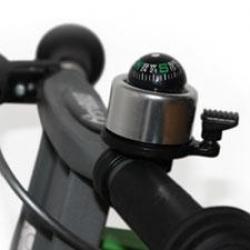 First Bike zvonček stříbrný kompas