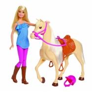 Barbie Lalka z koniem