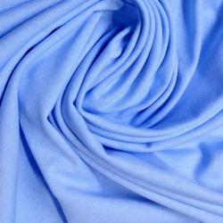 Bavlněné prostěradlo 180x80 cm - světle modré