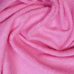 Froté prostěradlo 180x80 cm - růžové