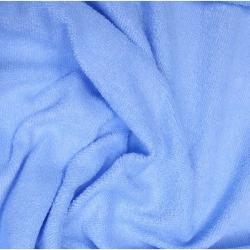 Froté prostěradlo 160x70 cm - světle modré