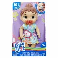 Baby Alive Tmavovlasá plačící panenka