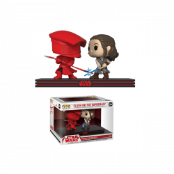 Funko POP Bobble 2-Pack: Star Wars: Movie Moments: Rey & Praetorian Guard