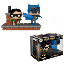 Funko POP DC Moment: Batman 80th - Look Batman and Ro