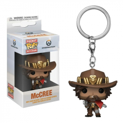 Funko POP Keychain: Overwatch- McCree
