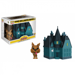 Funko POP Town: Scooby Doo- Haunted Mansion