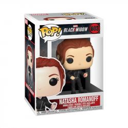 Funko POP Marvel: Black Widow – Black Widow (Street)