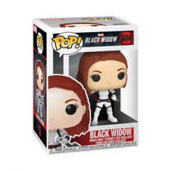 Funko POP Marvel: Black Widow – Black Widow (White Suit)