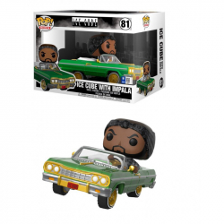 Funko POP Rocks Rides: Ice Cube in Impala