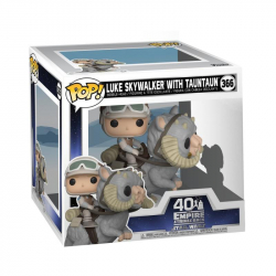 Funko POP Deluxe: Star Wars- Luke on Taun Taun