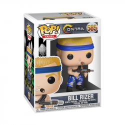 Funko POP Games: Contra - Bill