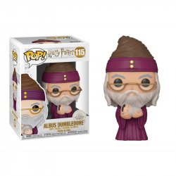 Funko POP Movies: Harry Potter S10 - Dumbledore w/Baby Harry