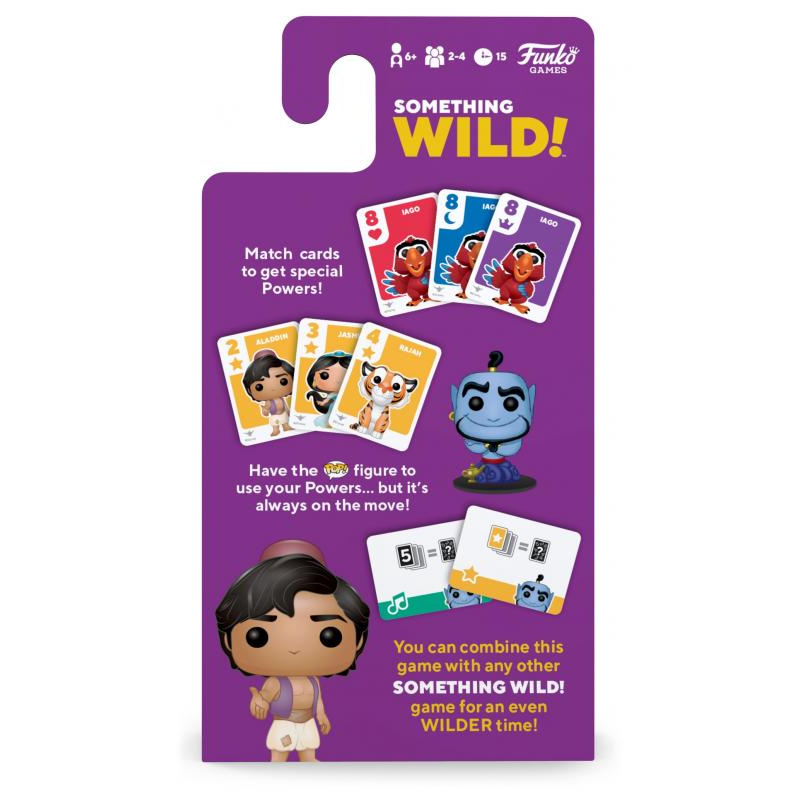 Funko Signature Games: Something Wild Card Game- Aladdin