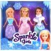 Princezna Sparkle Girlz zimní set 3 ks