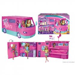 Karavan Sparkle Girlz obytný pre bábiky