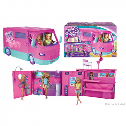 Karavan Sparkle Girlz obytný pro panenky