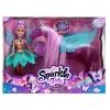 Magický svítící jednorožec s vílou Sparkle Girlz