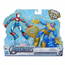 Avengers figúrka Bend and Flex duopack