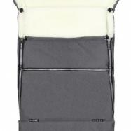 Emitex śpiworek do wózka combi merino - szary