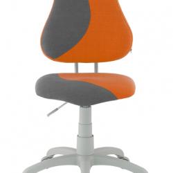 Rostoucí židle Fuxo S Line Melino oranžovo-šedá