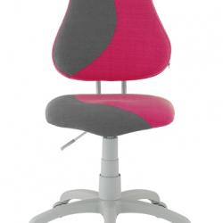 Rostoucí židle Fuxo S Line Melino růžovo-šedá