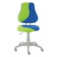 Rostoucí židle Fuxo S Line Suedine modro-zelená 245
