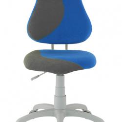 Rosnące krzesełko Alba Fuxo S Line Suedine niebiesko-szare 243