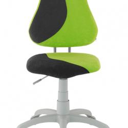 Rosnące krzesełko Alba Fuxo S Line Suedine zielono-czarne 328