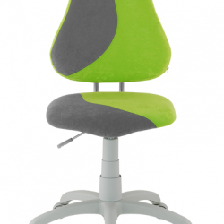 Rostoucí židle Fuxo S Line Suedine zeleno-šedá 255