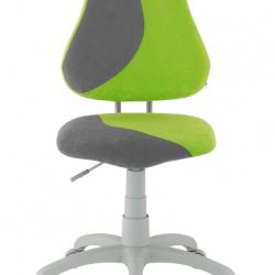 Rosnące krzesełko Alba Fuxo S Line Suedine zielono-szare 255