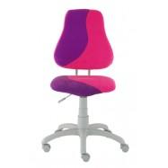 Rastúca stolička Fuxo S Line Suedine ružovo-fialová 268