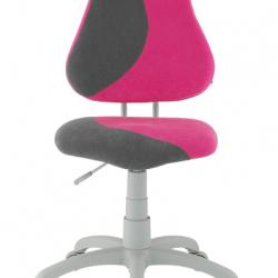 Rostoucí židle Fuxo S Line Suedine růžovo-šedá 250