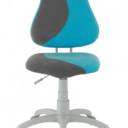 Rastúca stolička Fuxo S Line Suedine svetlo modro-šedá 254