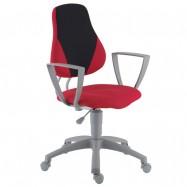 Rostoucí židle Fuxo Phoenix červeno-černá 105/009