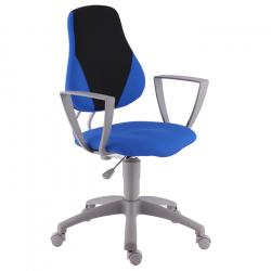Rosnące krzesełko Alba Fuxo Suedine niebiesko-czarne 7/1 - 008