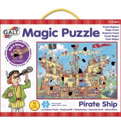 Magické puzzle - pirátska loď 2 *