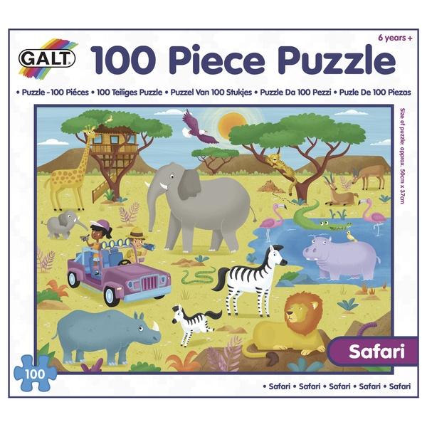 100 Puzzle v krabici - Safari